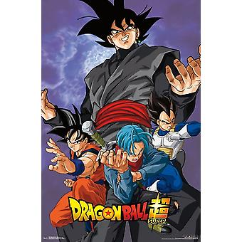 Dragon Ball Super - Bösewicht-Plakat-Druck