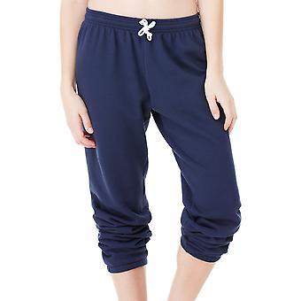Bella Canvas Womens Unisex Poly/Cotton Fleece Long Scrunch Pant