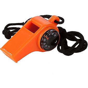 Regatta Loud Survival Whistle with Compass & Thermometer