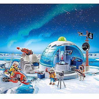 Playmobil 9055 Akció Sarkvidéki Expedíció Központja