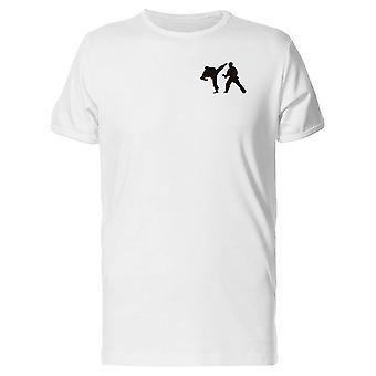 Karate atleter lomme Graphic Tee mænd-billede af Shutterstock