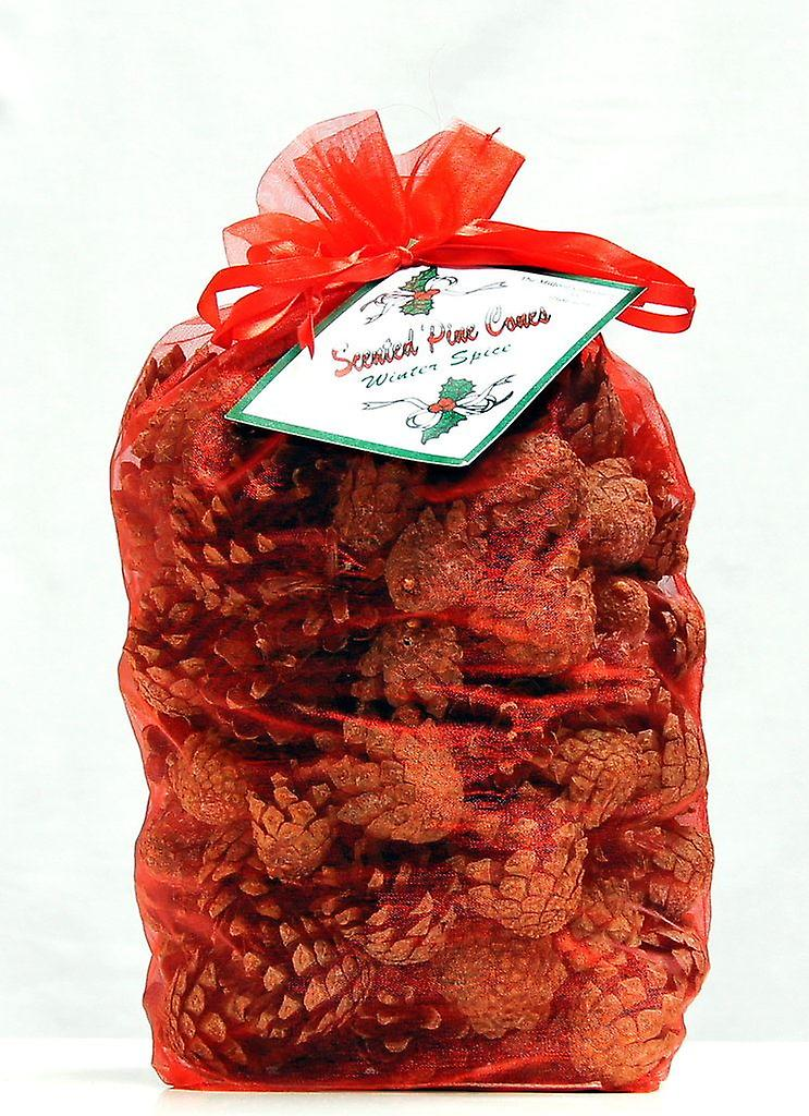 Milford Collection Winter Spice Scented Christmas Pine Cones