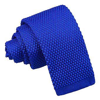Royal Blue gebreide stropdas voor jongens