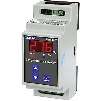 Emko ESM-1510.5.12.0.1/00.00/2.1.0.0. Temperature controller PTC -50 up to 130 °C 5 A relay (L x W x H) 59 x 35 x 85 mm