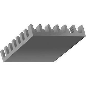 Fischer elektronik ICK BGA 27 x 27 x 10 kølelegemet 18,5 K/W (L x b x H) 27 x 27 x 10 mm