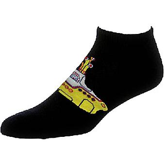 The Beatles Yellow Submarine Official Mens New Black Ankle Socks REINO Unido Tamaño 7-11