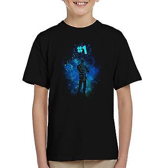 Fortnite die Reaper Silhouette Kinder T-Shirt