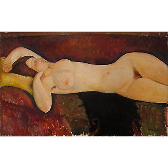 Nu reclinável, Amedeo Modigliani, 60x40cm