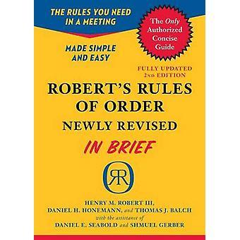 Regras de ordem de Robert (revista ed em breve) por Henry M. Robert - 97