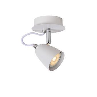 Lucide Fahrt-LED moderne Runde weiße Metalldecke Spot-Licht