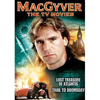 MacGyver - Macgyver: Tv filmer [DVD] USA import