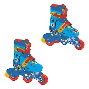 足はインライン ローラー スケート サイズ 9 11.5 (OPAW084) に 2-1 でトライをパトロールします。