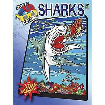 Hajar (Dover 3D-målarböcker)