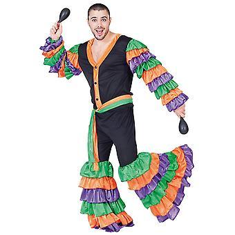 Brazilian samba Dancer Costume mens Rio Brazil GR 52 Dancer Costume