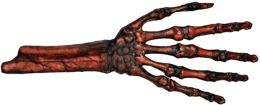 Zgnił ciało i kości ręki