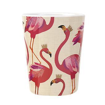 Sara Miller Flamingo szett 4 melamin főzőpoharak
