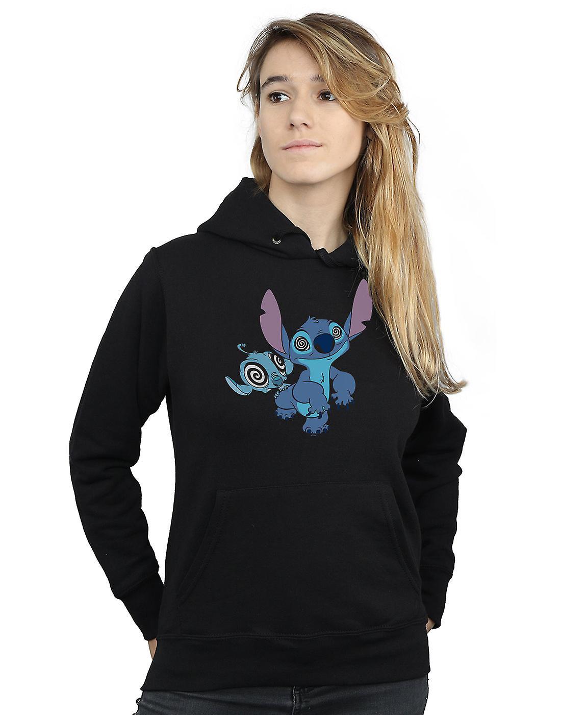 Disney Women's Lilo And Stitch Hypnotized Hoodie