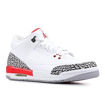 Air Jordan 3 Retro Bg 'Katrina' - 398614-116 - Shoes