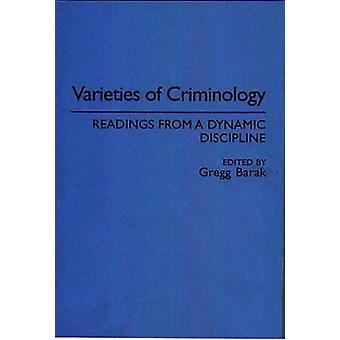 Varianter av kriminologi målinger fra en dynamisk disiplin av Barak & Gregg