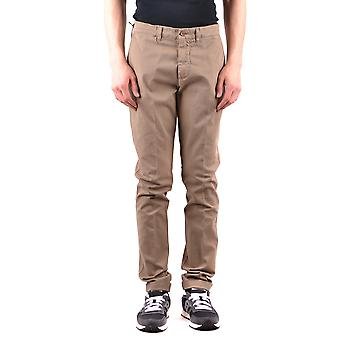 Harmont&blaine Ezbc096008 Men's Beige Cotton Pants