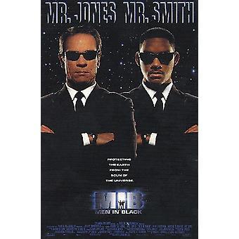 Mænd i sorte plakat Tommy Lee Jones, Will Smith (krydsede arme) 101 x 68 cm