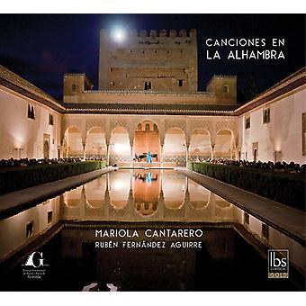 Lieder / Cantarero / Fernandez Aguirre - Canciones En La Alhambra [CD] USA import
