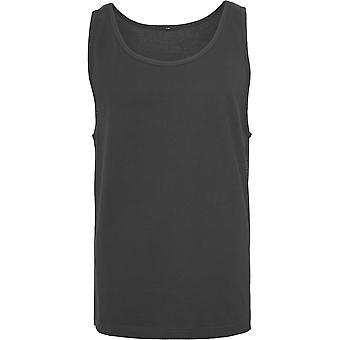 Cotton Addict Mens Cotton Lightweight Jersey Big Tank Vest