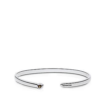 The University of Alabama Quartz Stone Cuff Bracelet In Sterling Silver Design by BIXLER