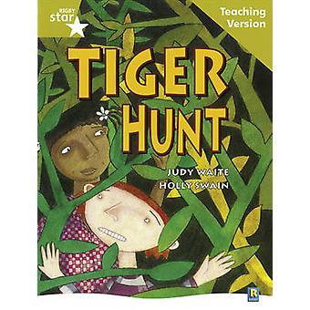 Rigby Star guiado leitura nível de ouro-Tiger Hunt ensinando versão-9