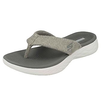 Ladies Skechers On The Go Toe Post Sandals Best Liked 16154