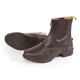 Shires Moretta Childrens/adults Clio Paddock Boots - Brown