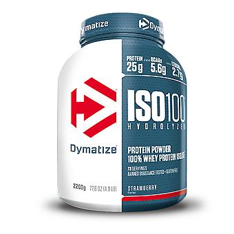 Dymatize ISO 100 Hyrdrolyzed 100% Whey Protein Isolate