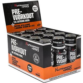 Nutramino Pre Workout Shot 12 x 60 ml