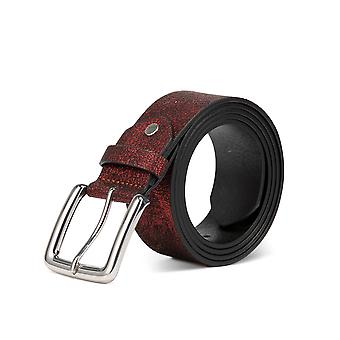 Allthemen Men ' s Belt repedt velúr tailorable csat bőr öv 5 színek