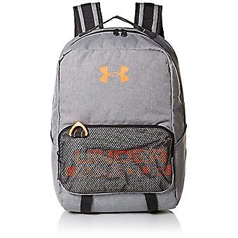 Under Armour drenge rustning Vælg rygsæk-rygsæk-grå (stål medium Heather/sort/magma orange 035)-en størrelse