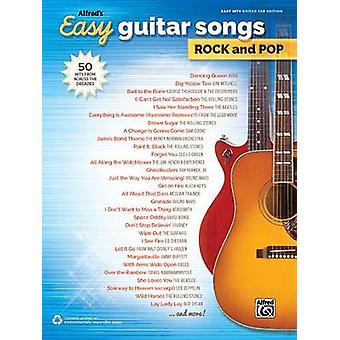Alfred's Easy Guitar Songs -- Rock & Pop  - 50 Hits from Across the De