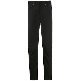 Neil Barrett Velvet Black Skinny Jeans