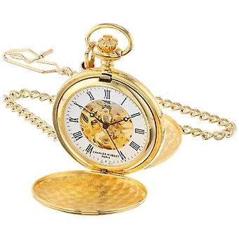 Charles-Hubert Unisex Ref Clock. 3575-G