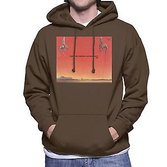 A.P.O.H Salvador Dali Fear Of Perfection Quote Men's Hooded Sweatshirt