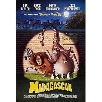 Madagaskar (dubbelzijdig regelmatig) (2005) originele bioscoop poster