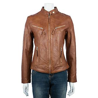 Ladies Classic Biker Jacket