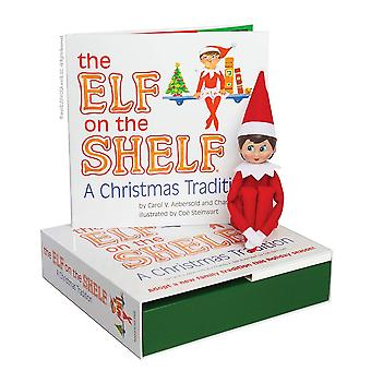 Elf On The Shelf: A Christmas Tradition (blue-eyed Girl). Elf & Book