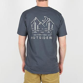Passagier Freeride t-shirt-middernacht