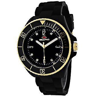 Seapro Frauen's Sea Bubble Black Dial Uhr - SP7410