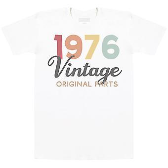 Vintage alkuperäiset osat-Miesten T-paita