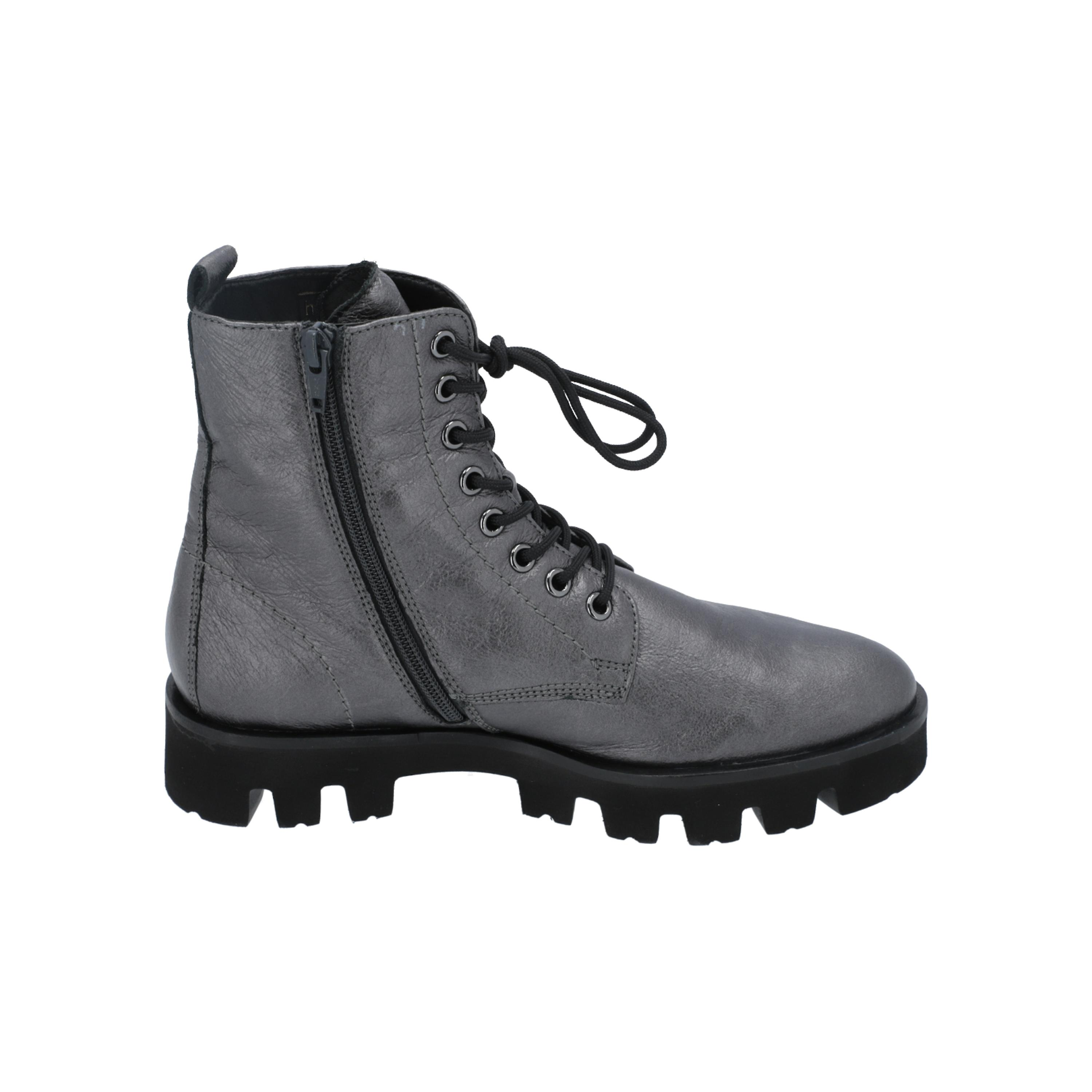 Högl 6-102611 Women ' S Boots Grey Lace-boots-boots Vinter