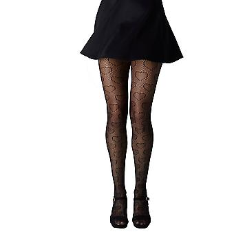 Gipsy Hearts Net Patterned Tights