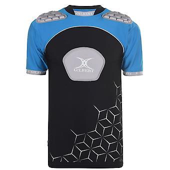 Gilbert Mens Atomic V3 Baselayer Top Thermal Short Sleeve Crew Neck T-shirt
