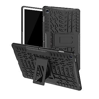 Dla Samsung Galaxy Tab 8.0 2019 T290 T295 Hybrid Zewnętrzna obudowa ochronna Obudowa Czarna obudowa