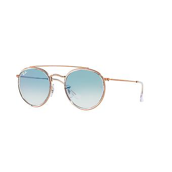 Ray-Ban RB3647N 9068/3F Transparent/Clear Sunglasses Blue